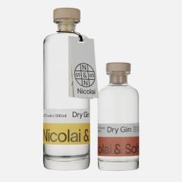 Erfurt Dry Gin Set, Nicolai & Sohn Ruby Classic