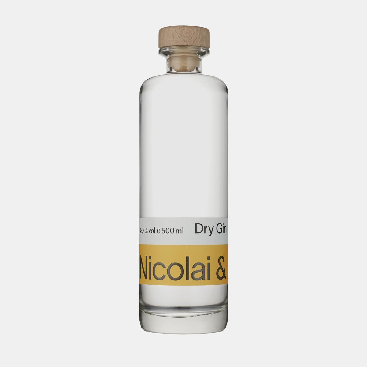 Produkt Dry Gin 500ml, Classic Edition, der Erfurter Brennerei Nicolai & Sohn