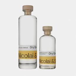 Produkt Dry Gin, Classic Edition, der Erfurter Brennerei Nicolai & Sohn